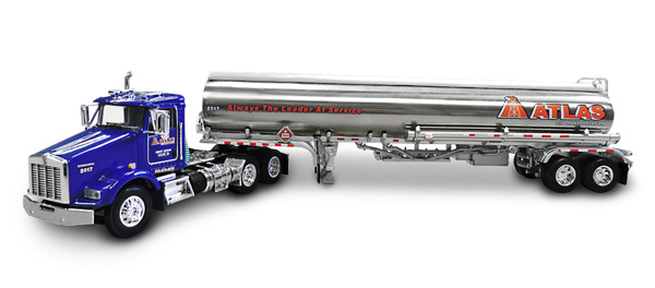 33893 - Die-Cast Promotions DCP Atlas Oil Kenworth T800 Day Cab