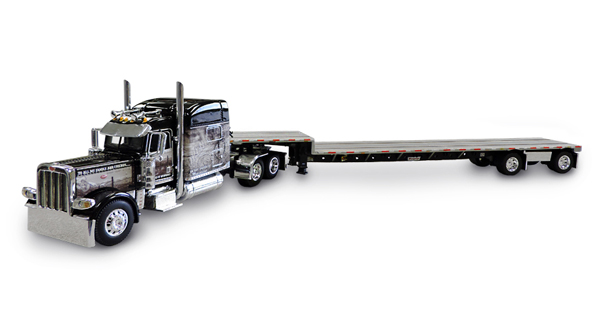 33991 - Die-Cast Promotions DCP Open Range Transportation Peterbilt 389