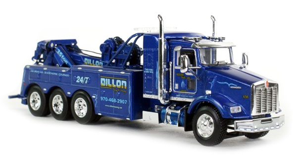 34063 - Die-Cast Promotions DCP Western Transportation Dillon Kenworth T800 Tri Axle