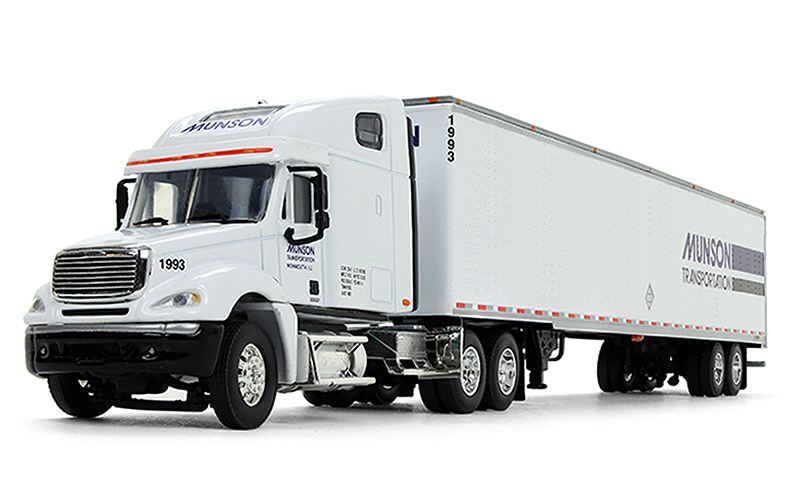 34283 - Die-Cast Promotions DCP Munson Transportation Freightliner Columbia High Roof Sleeper