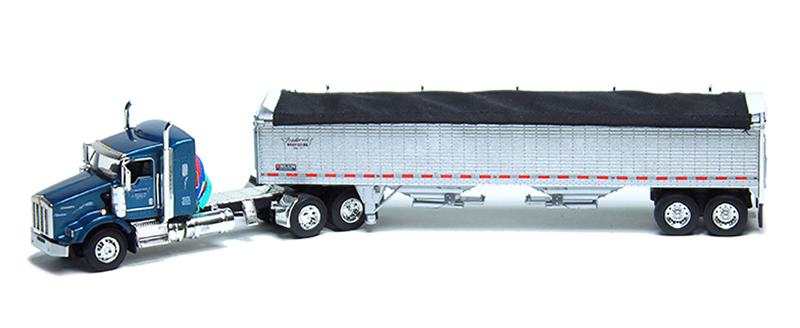 60-0606 - Die-Cast Promotions DCP Frederick Harvesting LLC Kenworth T800