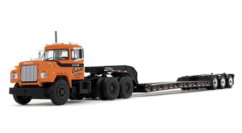 60-0672 - Die-Cast Promotions DCP JV IIII Construction Mack R Day Cab