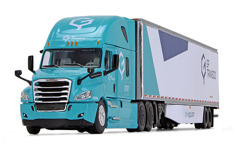 60-0754 - Die-Cast Promotions DCP GP Transco Freightliner 2018 Cascadia High Roof