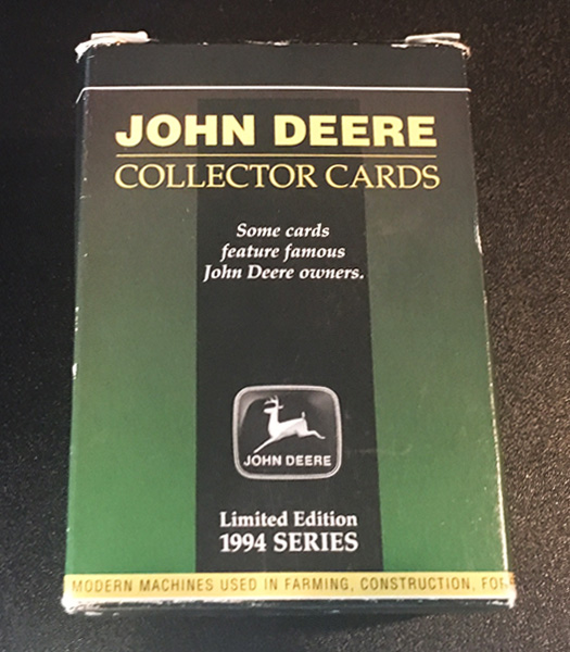 CARDS-1994 - Deere John Deere Collector Cards 1994 Series LIMITED