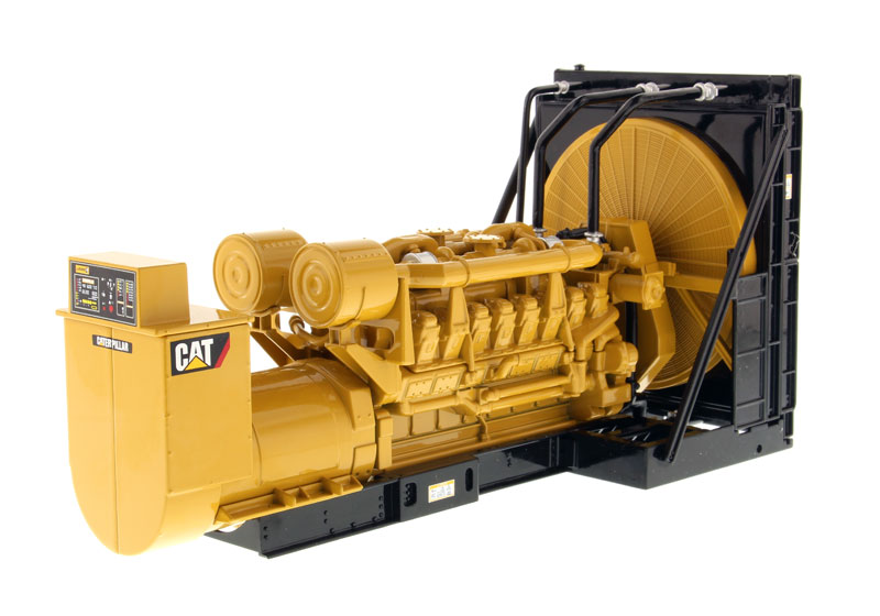 85100 - Diecast Masters Caterpillar 3516B Package Generator Set Core Classics