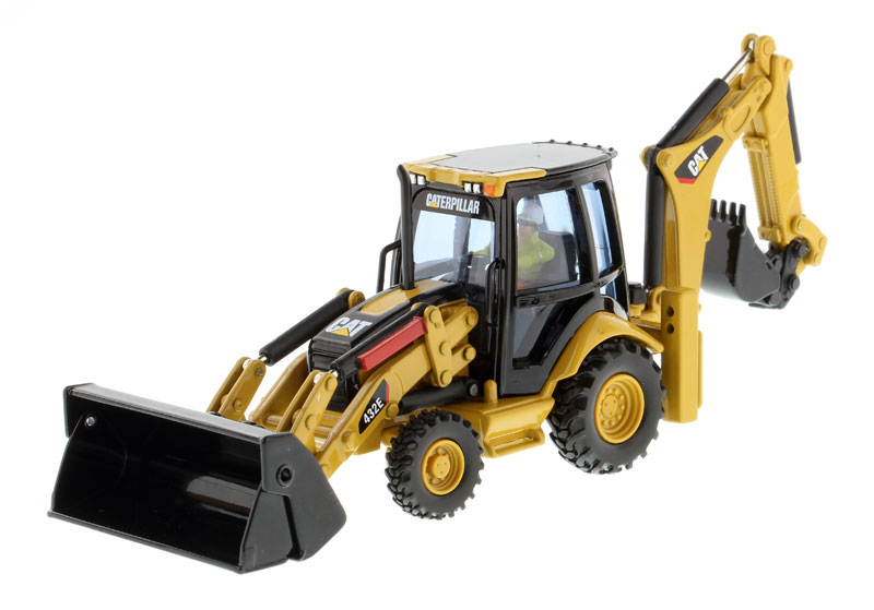 85149 - Diecast Masters Caterpillar 432E Side Shift Backhoe Loader Core