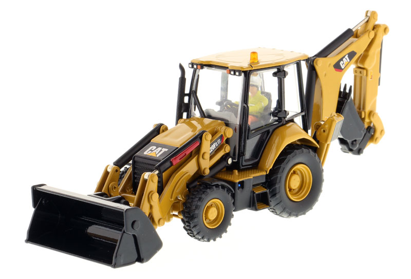 85233 - Diecast Masters Caterpillar 420F2 IT Backhoe Loader High Line