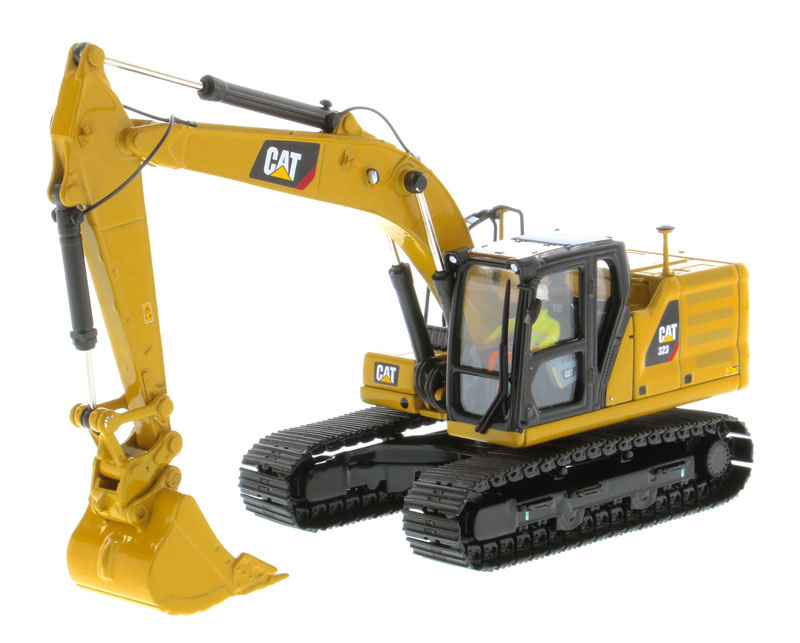 85571 - Diecast Masters Caterpillar 323 Hydraulic Excavator Next Generation Design
