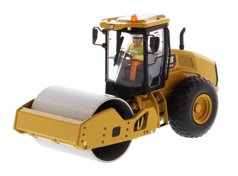 85589 - Diecast Masters Caterpillar CS11 GC Vibratory Soil Compactor detailed