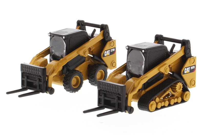 85609 - Diecast Masters Caterpillar 272D2 Skid Steer Loader and Caterpillar