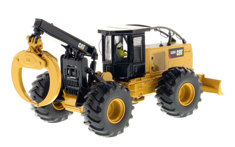 85932 - Diecast Masters Caterpillar 555D Wheel Skidder High Line Series