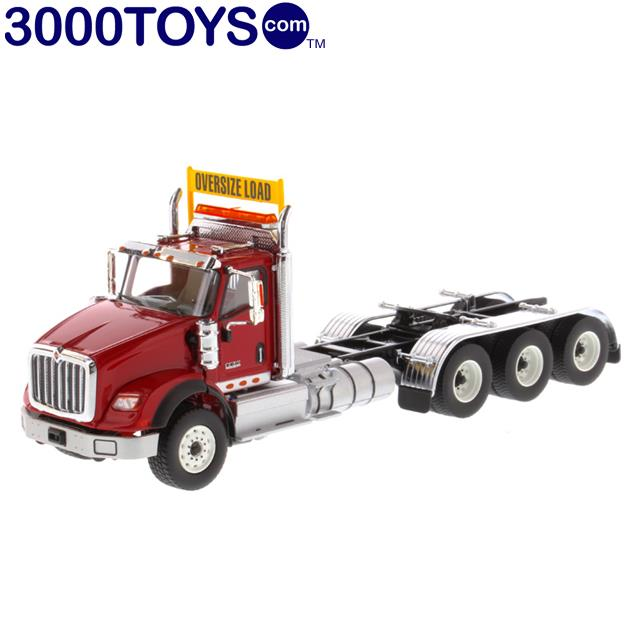 Diecast Masters International HX620 Day Cab Tridem Tractor