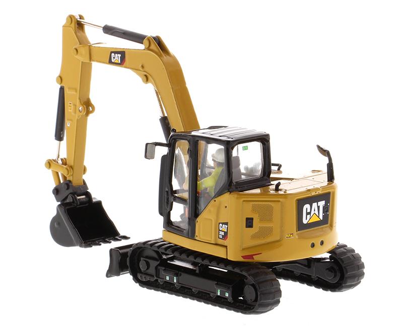 1//50 Caterpillar 308 CR Next Generation Hydraulic Excavator Truck Model Toy