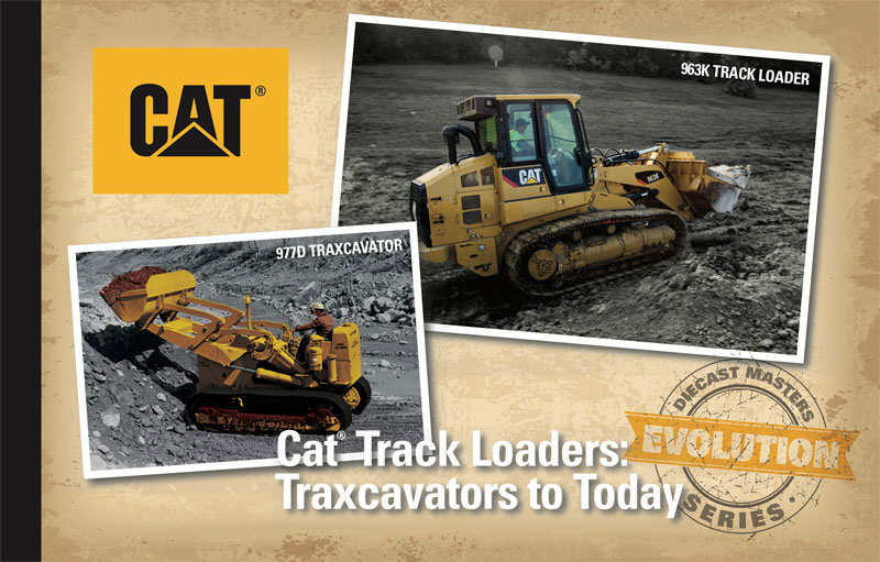Diecast Masters Caterpillar 977D Traxcavator Circa 1955 1960 and