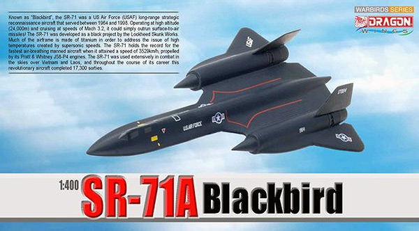 56263 - Dragon SR 71 A Blackbird