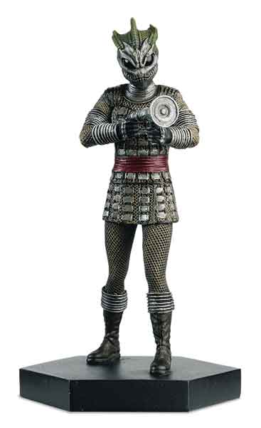 EM-DW005 - Eaglemoss Silurian Warrior Figurine Doctor Who Made of