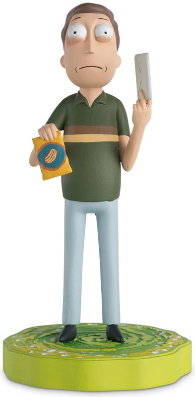 RAMUK008 - Eaglemoss Jerry Smith Rick and Morty 2013