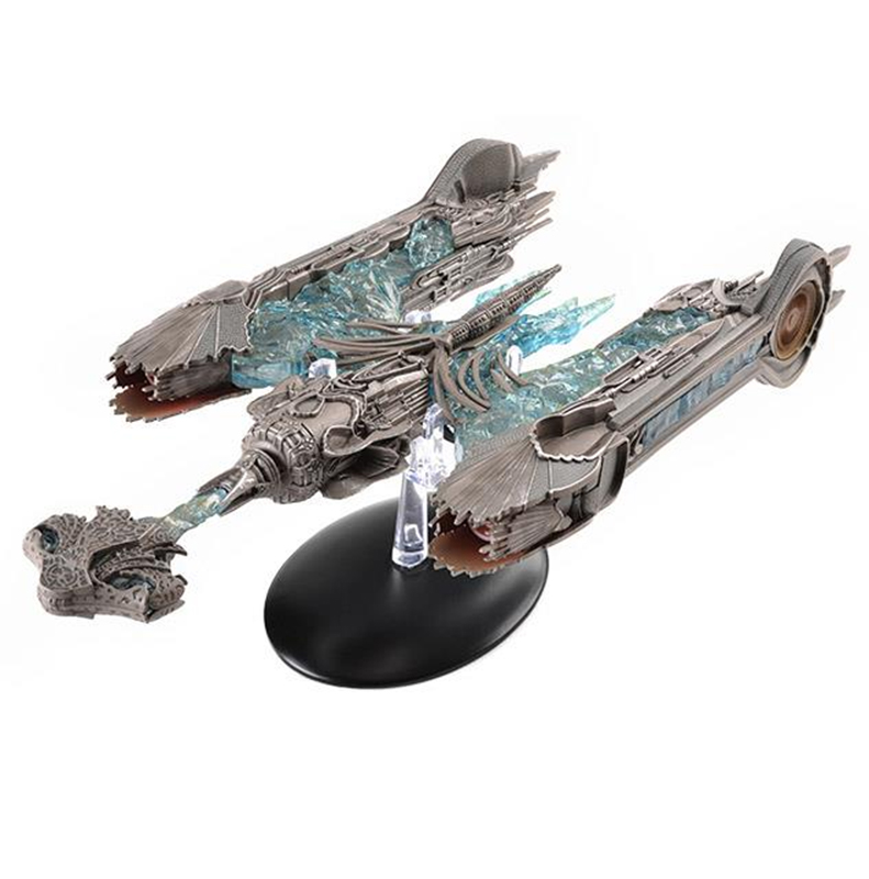 SSDUK801 - Eaglemoss Klingon Sarcophagus Ship Special Edition Star Trek