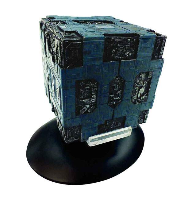 SSSUK058 - Eaglemoss ST58 Star Trek Borg Tactical Cube