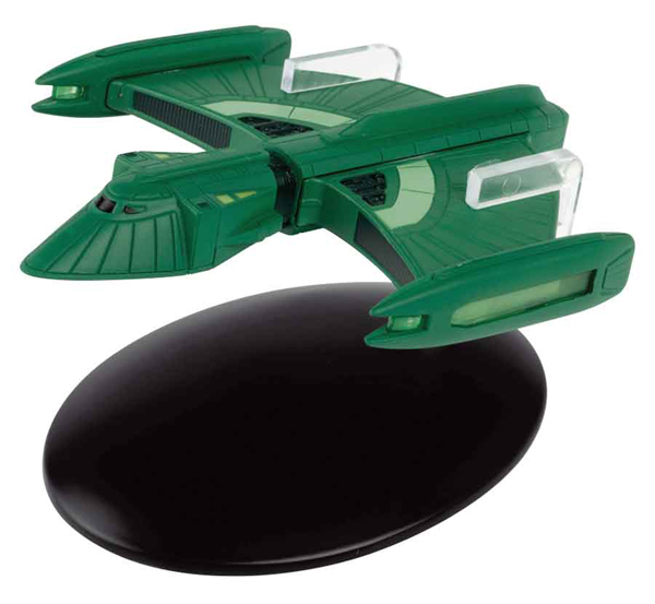 SSSUK090 - Eaglemoss ST90 Romulan Scout Ship Star Trek