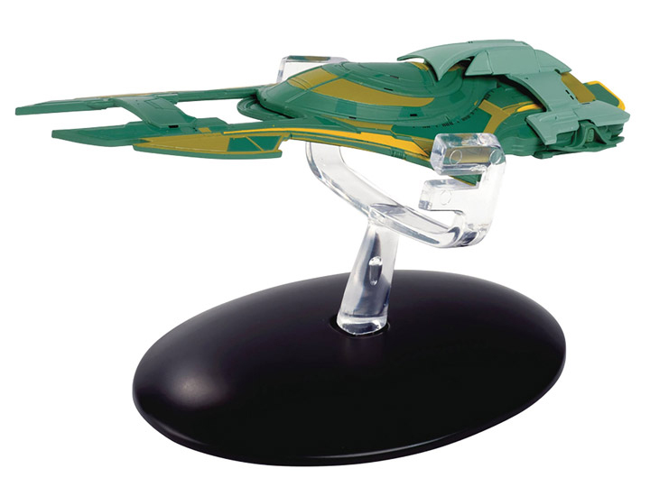 SSSUK137 - Eaglemoss ST137 Xindi Humanoid Ship Star Trek