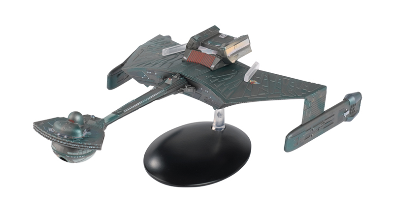 SSSUK618 - Eaglemoss Klingon Ktinga Class Battle Cruiser Special Edition