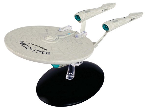 SSSUK812 - Eaglemoss STSPE12 USS Enterprise NCC 1701 Consitution