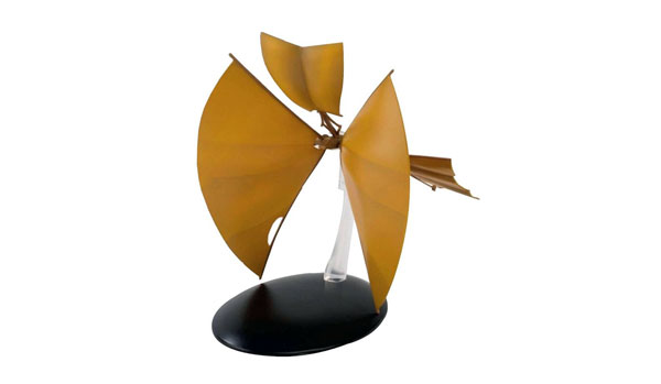 ST18-X - Eaglemoss Star Trek Bajoran Solar Sailor TWO SAILS