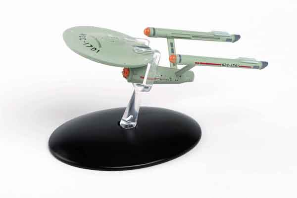ST50 - Eaglemoss Star Trek USS Enterprise NCC 1701 Constitution