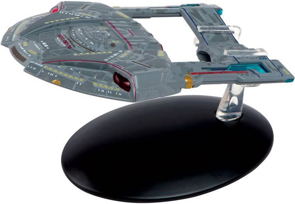ST54 - Eaglemoss Star Trek USS Appalachia NCC 52136 Steamrunner