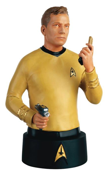 STBUK001 - Eaglemoss STB01 Star Trek Captain James Tiberius