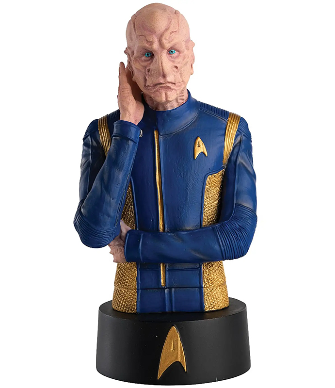 STBUK009 - Eaglemoss Commander Saru Star Trek Star Trek Busts