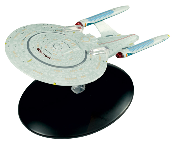 STCON04 - Eaglemoss Star Trek USS Enterprise NCC 1701 C