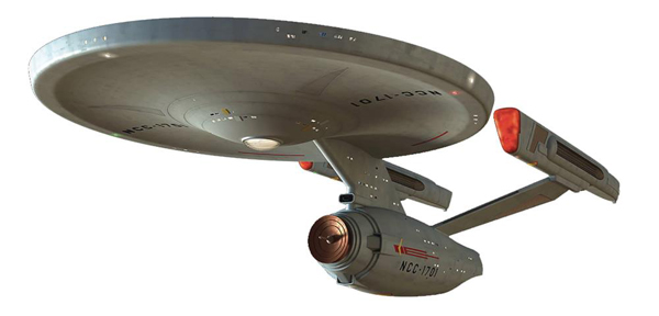 STCON05 - Eaglemoss Star Trek USS Enterprise NCC 1701 Constitution
