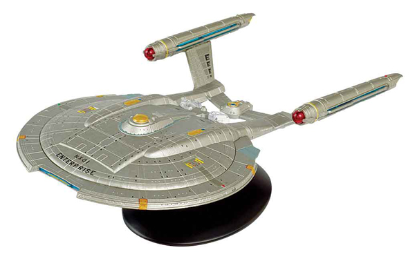 STMEGA04 - Eaglemoss Star Trek USS Enterprise NX 01 Special