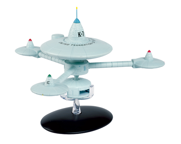 STSPE10 - Eaglemoss Star Trek Deep Space Station K 7