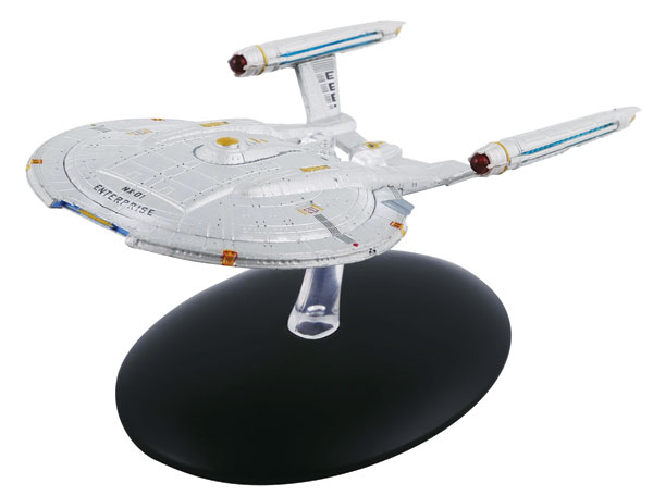 STSUK003 - Eaglemoss USS Enterprise NX 01 Star Trek Star