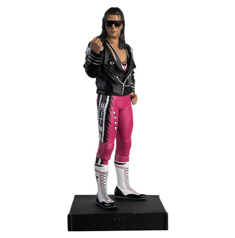 WWEUK013 - Eaglemoss Bret Hart WWE Championship Figurine Collection