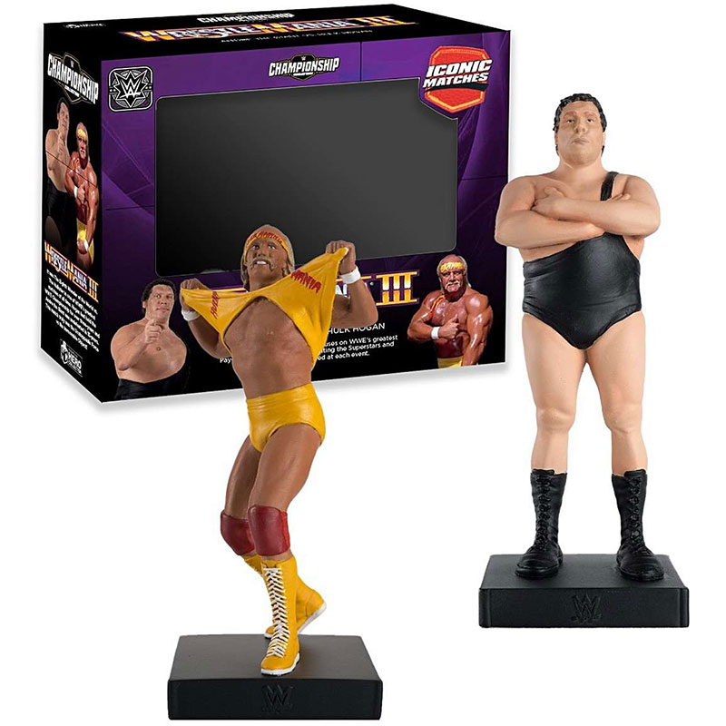 WWEUK803 - Eaglemoss WWE WrestleMania III Iconic Match Andre