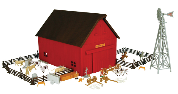 12278 - ERTL Toys Farm Country Western Ranch Playset Over 65