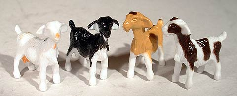 12742-25 - ERTL Toys Goats Bag of 25 Assorted Goats Perfect