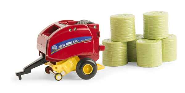 13873 - ERTL Toys New Holland Roll Belt 560 Round Baler