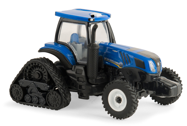 13904 - ERTL Toys New Holland Genesis T8410 Smarttrax Tractor