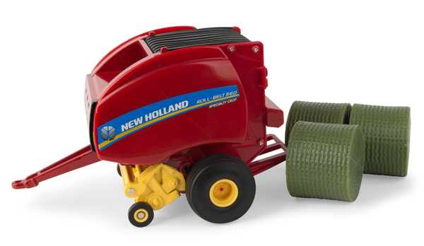 13923 - ERTL Toys New Holland Roll Belt 560 Round Baler