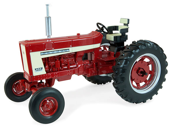 14886 - ERTL Toys Farmall 656 Wide Front Tractor