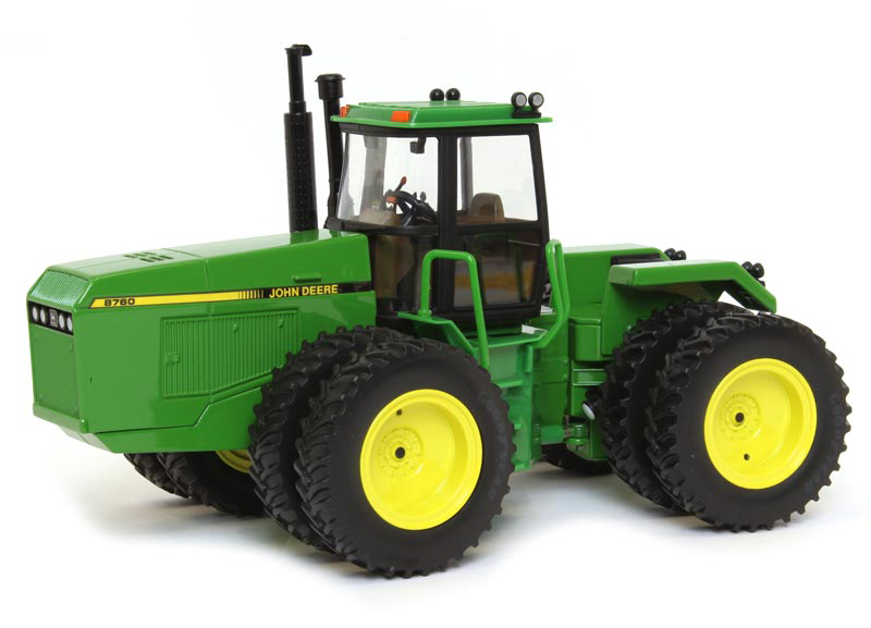 16196A - ERTL Toys John Deere 8760 4WD Articulating Tractor