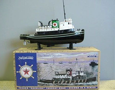 20208P - ERTL Toys Texaco 2 Nautical Series 2001 Texaco Havoline