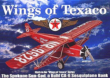20211P - ERTL Toys Texaco Wings Of Texaco 9 2001 1929