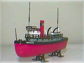 20563P - ERTL Toys Texaco 3 Nautical Series 2002 Texaco