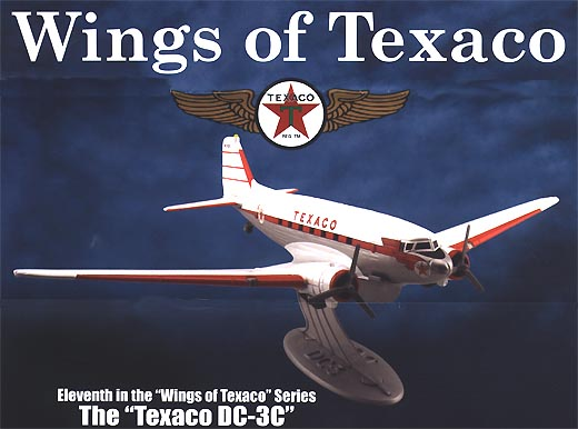 21255P - ERTL Toys Texaco Wings Of Texaco 11 2003